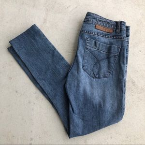 Calvin Klein Jeans Medium Wash Cropped Jeggings